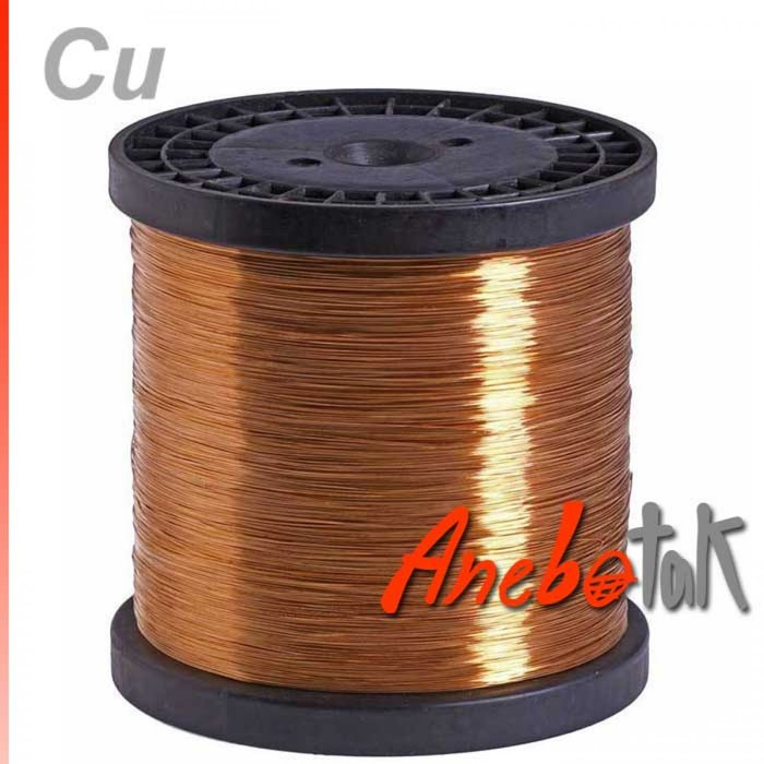 Měděný drát surový měkký, 0,8 mm (8 kg)