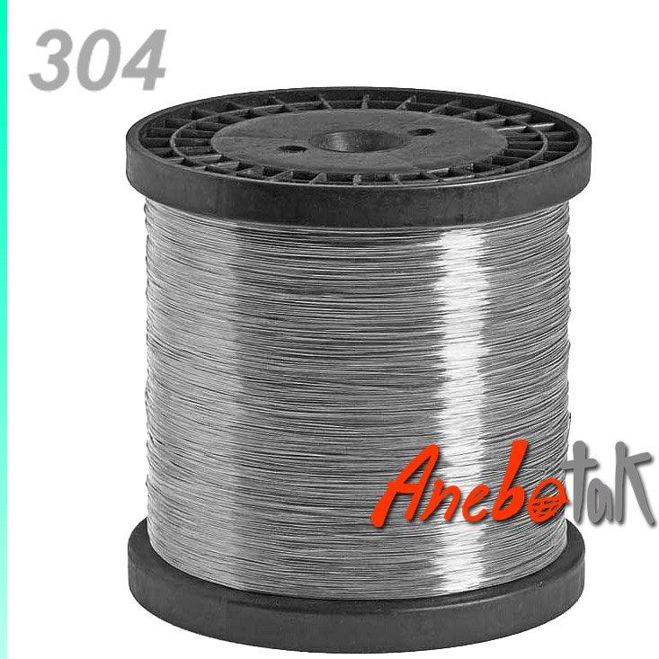 Nerezový drát 304 polotvrdý, 0.8 mm, svitek 3 kg