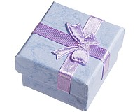 Dárková krabička, 4x4x2,6 cm, 2 ks