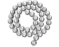 Křišťál, korálky 10 mm (40 ks)