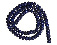 Lapis lazuli - rondelky, 6x4 mm (4 ks)